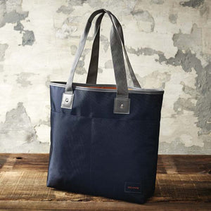 Japanese magazine gift Beams Blue Light Tote Bag