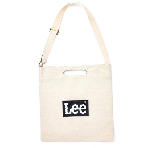 Japanese magazine gift Lee 2 way white Tote Bag