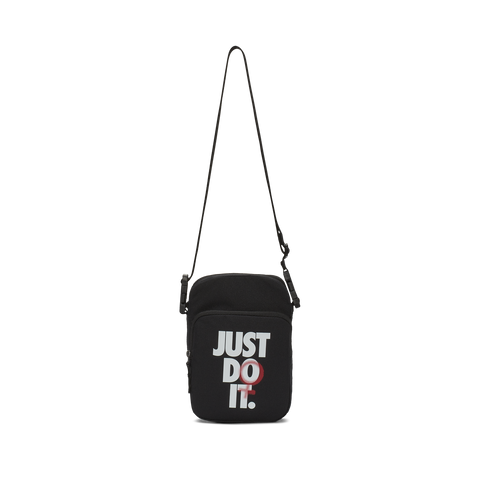 NIKE HERITAGE Cross-Body Bag Black Just Do it