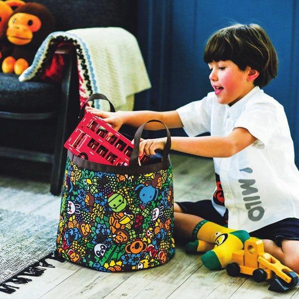 Japanese magazine gift Bape Kids Storage bag