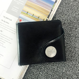 Japanese magazine gift Urban Research Black classic Wallet