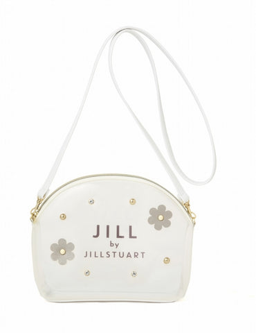 Japanese magazine gift Jill Stuart Two sides (frosted/white) Crossbody bag