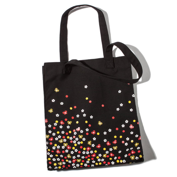 Japanese magazine gift Marc Jacobs Black Flower tote bag