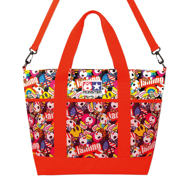 Japanese magazine gift Joyful & Monster Shoulder Bag with zipper