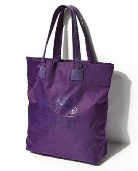 Coach Lyon waterproof Tote Bag 4 color