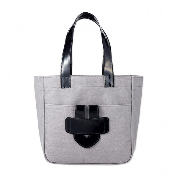 Japanese magazine gift TILA MARCH Grey handbag