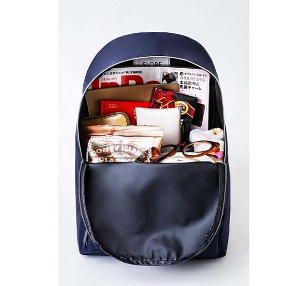 Japanese magazine gift Slobe Blue light backpack