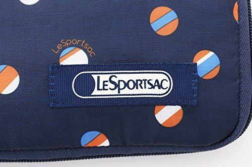Japanese magazine gift LESPORTSAC Foldable blue dot Shopping bag