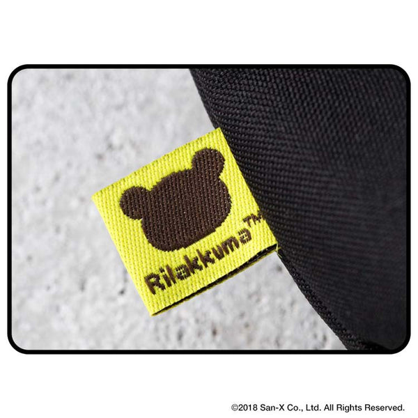 Japanese magazine gift YAKPAK X Rilakkuma Black Crossbody Bag