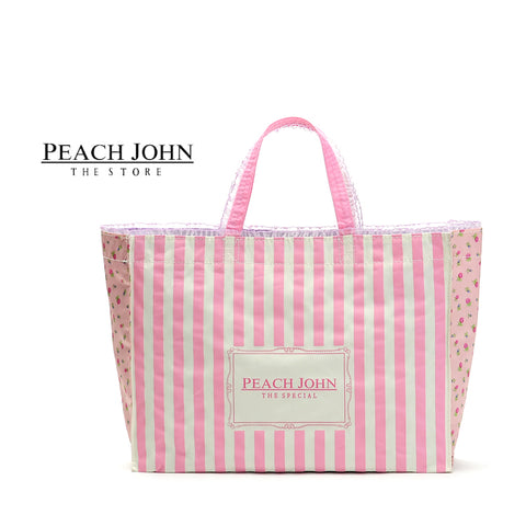 Japanese magazine gift Peach John Shopping Bag