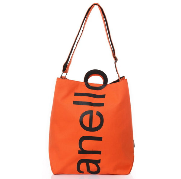 Anello 2 Way Shoulder canvas tote Bag 13 color to choose