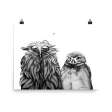 Load image into Gallery viewer, Odd Couple Owl Print