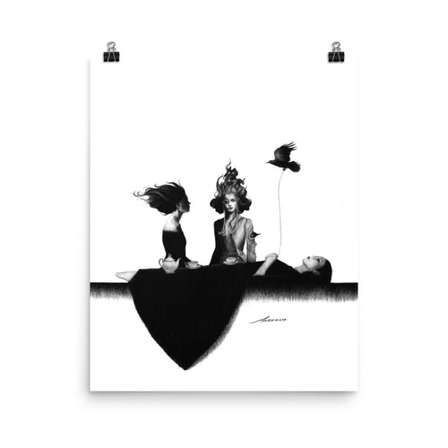 Feasting on Dreams Vertical Print