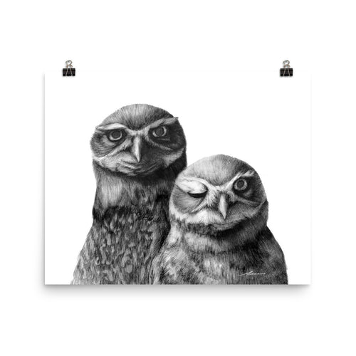 Friends Owl Print