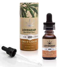 Load image into Gallery viewer, Love Hemp CBD e-liquid 15ml 100mg