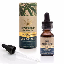Load image into Gallery viewer, Love Hemp CBD e-liquid 15ml 250mg