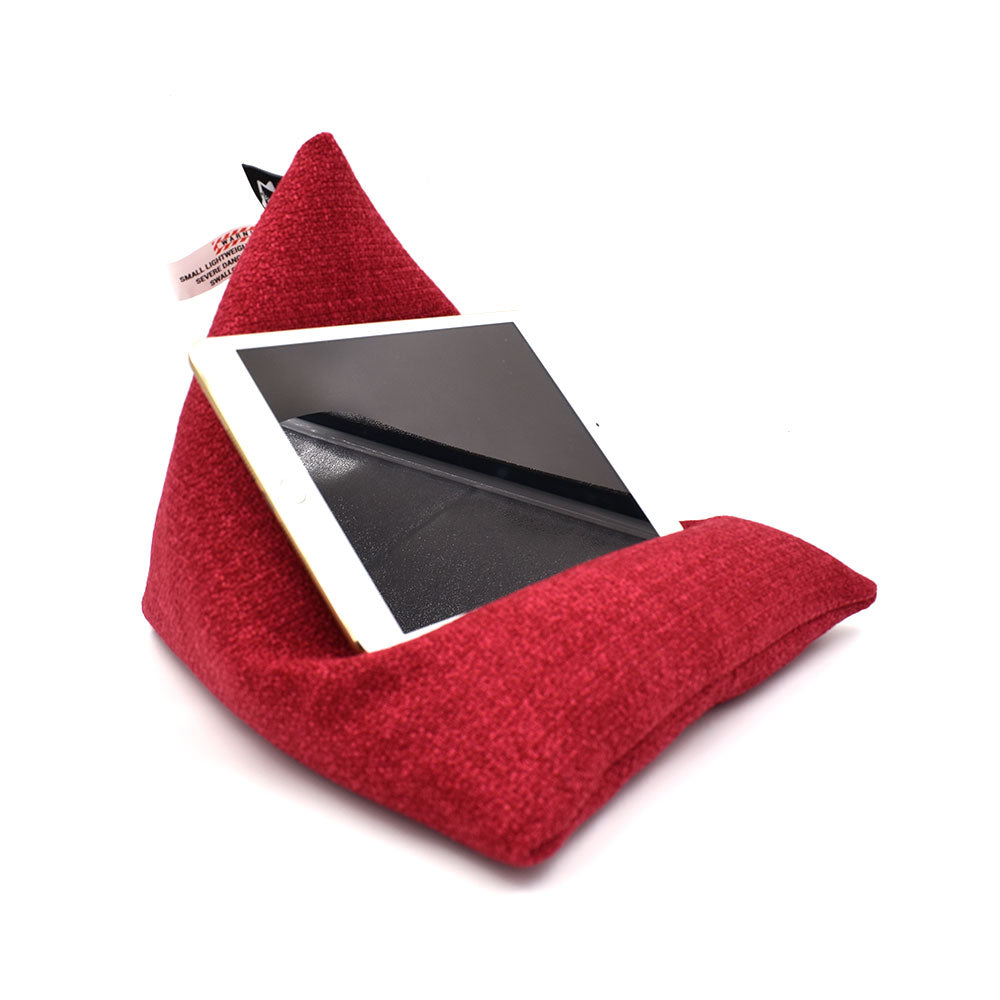 iPad/ Tablet Beanbag Stand - Beanipod Red