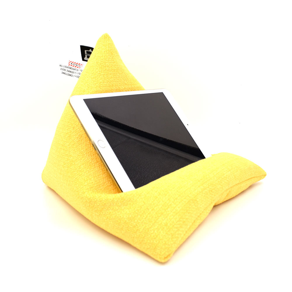 iPad/ Tablet Beanbag Stand - Beanipod Yellow