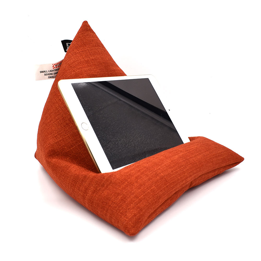 iPad/ Tablet Beanbag Stand - Beanipod Orange