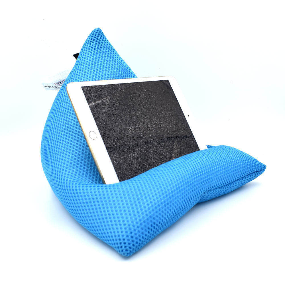 iPad/ Tablet Beanbag Stand - Beanipod Airmesh Blue