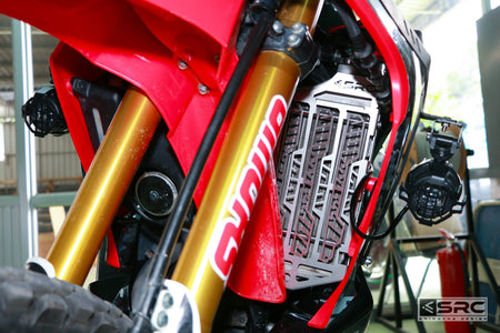 Honda CRF250 Rally Radiator Guard data-fancybox=