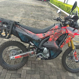 Honda CRF250L Rear Cargo Rack and Side Racks