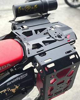 Honda CRF250 Rally Rear Cargo Rack, Side Racks, Gas Tank and Tool Tube