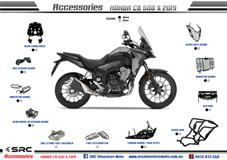 Honda CB500X - All parts overview data-fancybox=