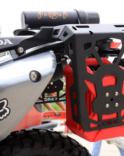 Honda CRF250L Rear Cargo Rack, Side Racks, Gas Tank and Tool Tube