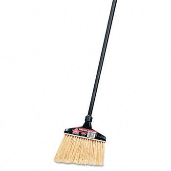 O-Cedar Commercial Maxi Plus Professional Angle Broom With Flagged Bristles