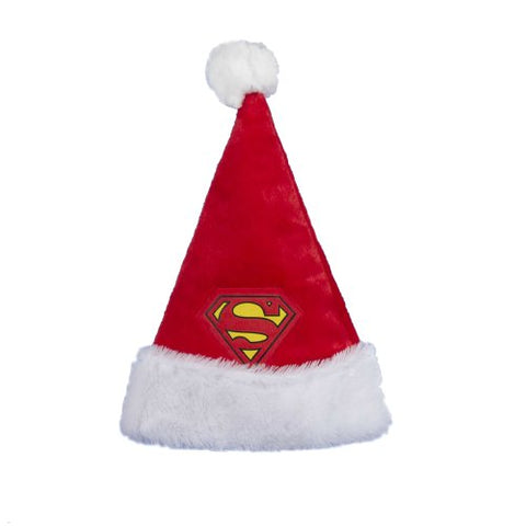 Kurt Adler 16 Superman Santa Hat