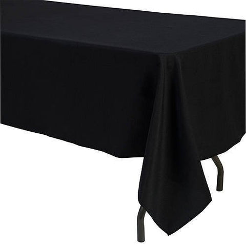 60 X 126 Inch Polyester Tablecloth Dark Brown