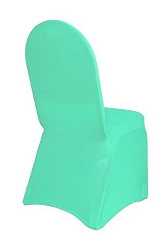 Your Chair Covers - Stretch Spandex Banquet Chair Cover Robin Egg