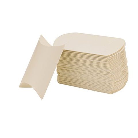 Vlovelife Ivory Anti-Scratch Paper Pillow Favor Gift Box Wedding Party Favour Gift Candy Box