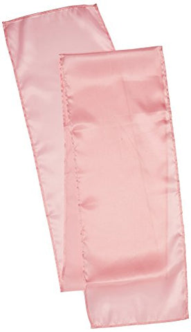 Linentablecloth 14 X 108-Inch Satin Table Runner Pink
