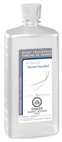 Lampe Berger Fragrance, 33.8 Fluid Ounce, So Neutral