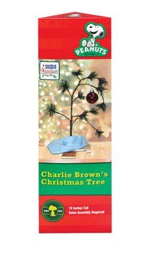 Charlie Brown Christmas Tree With Blanket 24 Tall (Non-Musical)