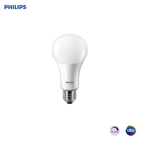 Philips Led Dimmable A21 Light Bulb: 1600-Lumen, 5000-Kelvin 16-Watt (100-Watt Equivalent), E26 Base, Frosted, Daylight, (Old Generation)