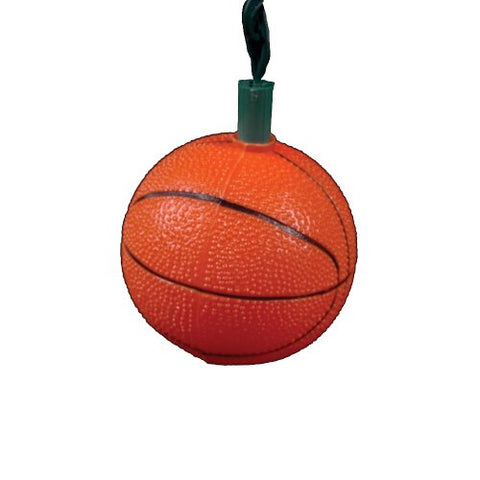 Kurt Adler Ul0402 Basketball Light Set, 10 Light