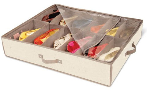 Pro-Mart Dazz Underbed Shoe Storage With Cedar, Canvas