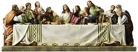 Last Supper Collection Joseph'S Studio Jesus And The 12 Disciples At The Last Supper, 11.25-Inch