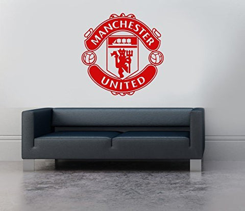 Manchester United England Football Soccer Wall Decor Sticker Decal
