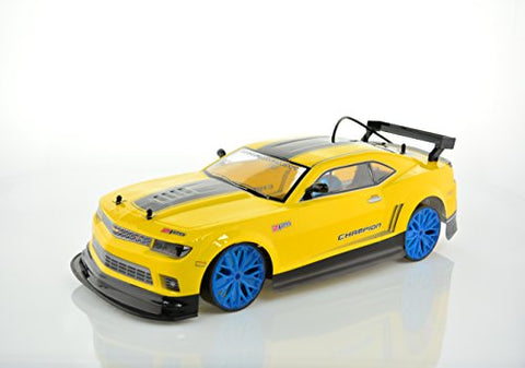 Rc Electric Drift Car 1:10 Scale - 2Wd - 20Mph - Radio Control Racing Cars And Trucks By Cis-Associates, Camero