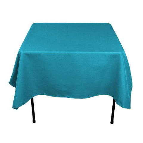 Linentablecloth 70-Inch Square Polyester Tablecloth Caribbean