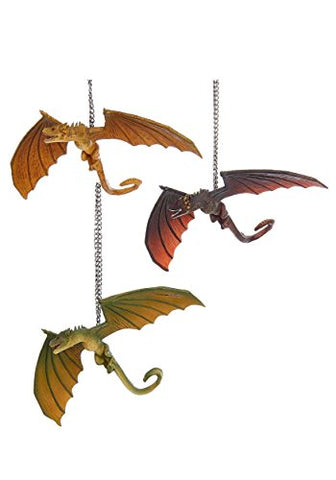 Kurt Adler 4  Game Of Thrones Dragon Ornament 3/A