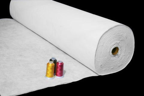 New Threadnanny Roll Of Thick Tear Away Backing For Embroidery / Quilting Machines - 10 In X 100 Yards