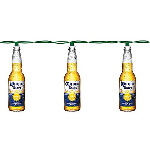 Kurt Adler 10-Light Corona Beer Bottle Light Set