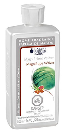 Lampe Berger Fragrance - Magnificent Vetiver , 500Ml / 16.9 Fl.Oz.