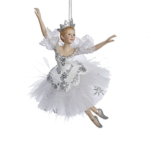 6.75 Snow Queen Ballerina Ornament