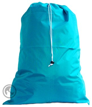 Extra Large Laundry Bag With Drawstring, Color: Teal, *Size: 30X45